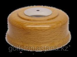 Кнопка вызова КСХ-4 (светлый бук, под хром)