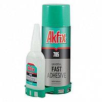 Клей двухкомпонентный Akfix 200 мл.