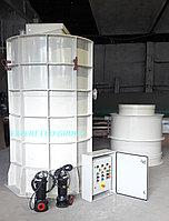 Канализационная насосная станция (КНС) 60 м3/час за 10 дней