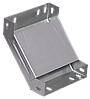 Поворот на 90 гр. вертикальный внутренний 80х400 IEK HDZ