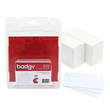 Evolis CBGC0020W ПВХ BLANK карточки - 20 MIL для принтера Evolis Badgy200