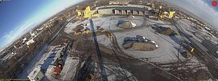 Панорамная камера Mobotix D15Di-Sec-Pano для общего обзора