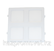 LED ДВО KOMBI 24w 200x200x23 IP20 MEGALIGHT