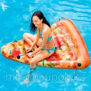 """Надувной плотик (матрас)""""Пицца"""" 175*145 см"""