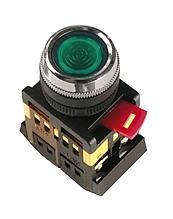 Кнопка ABLFS-22 (зеленый неон)