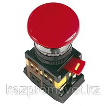 Кнопка АEАL-22(грибок с фиксац.красн)