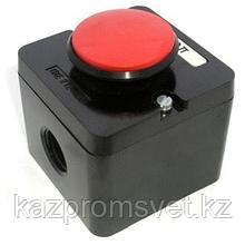 Кнопка ПКЕ 222-1(грибок красный)