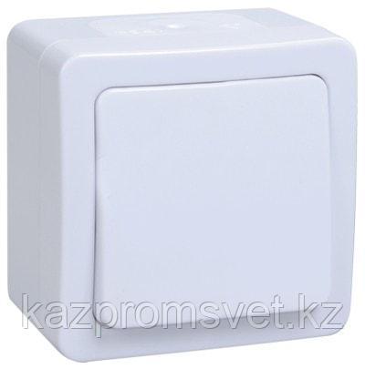 I26 выкл 1кл о/у белый IP54 ГЕРМЕС IEK   ВС20-1-0-ГПБ