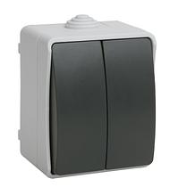 Выключатель 2кл IP54 ФОРС IEK (ВС20-2-0-ФСр)