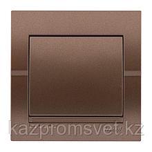 702-3131-100 Выключатель 1клавишный скрытой установки Deriy