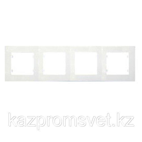 М21Рамка 4-я белая DEFNE  42001704