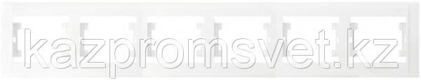 М23Рамка 6-я белая DEFNE  42001706