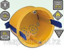 KSC 11-106 (коробка устан. под г/к 68*50) с пласт. ремешками