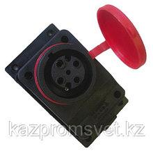 Розетка наруж. уст-ки накл. с заглушкой 3Р+Е 3x32А 72 TENPO