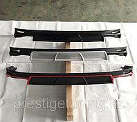 Диффузор на Camry 70/75 красный цвет (вариант 1), фото 1