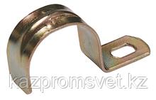 Скоба метал. 1-лапковая d 19-20мм (для металорукава d-15)