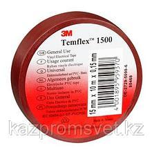 Изолента ПВХ красная 3M