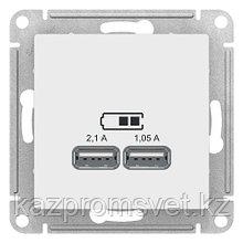 "USB розетка - 2 порта с/у б/рамки ""ATLAS"" (ATL133)"