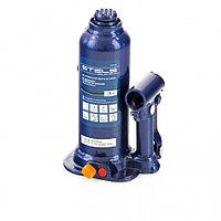 Домкрат гидравлический бутылочный, 3 т, h подъема 188–363 мм, в пласт. кейсе, Stels, 51173, фото 1
