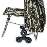 Сумка-тележка со стулом, фото 4