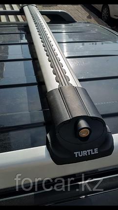 Багажные поперечины для стандартных рейлингов Turtle  AIR1 серебристые 106 см, фото 2