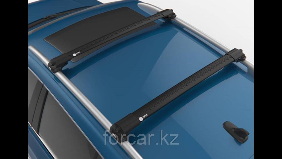 Багажные поперечины для интегрированных рейлингов Turtle AIR2 106 см. черные