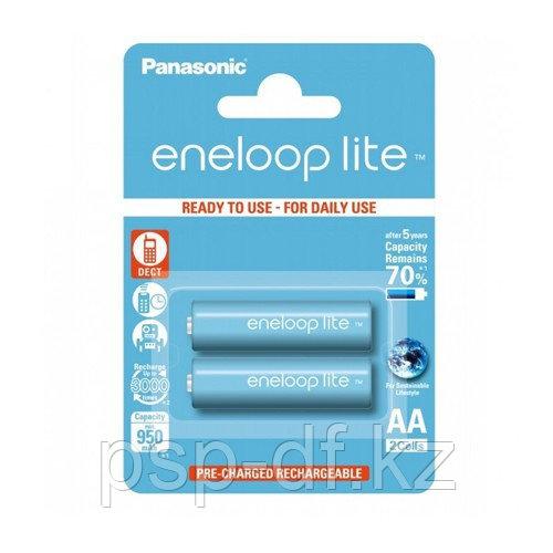 Аккумуляторы Panasonic Eneloop Lite AA 950mAh 2BP (BK-3LCCE/2BE) 2 шт