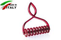 Нож - лапшерезка для нарезки теста на лапшу и пасту Marcato Classic Pastabike Rosso, красный