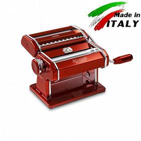 Оптом Marcato Design Atlas 150 Color Rosso машинка для приготовления лапши в домашних условиях и тестораскатка