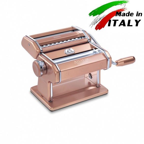 Оптом и розницу Marcato Design Atlas 150 Color Rosa ручная тестораскаточная машина - пасторезка