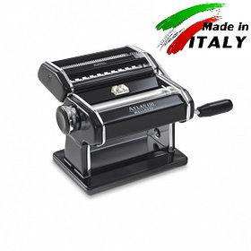 Оптом Marcato Design Atlas 150 Color Nero ручная тестораскаточная машина - лапшерезка с насадкой для лапши