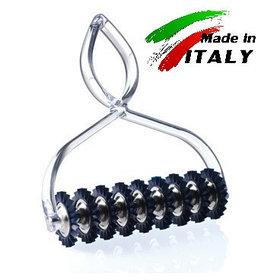Нож - лапшерезка для нарезки теста на лапшу и пасту Marcato Classic Pastabike Neutro, прозрачный