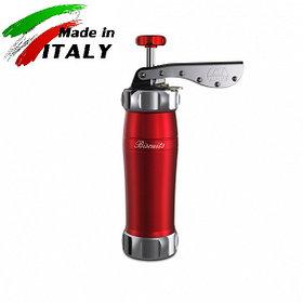 Marcato Design Biscuits Rosso кондитерский шприц - пресс для печенья, красный