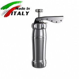 Marcato Design Biscuits Argento кондитерский шприц - пресс для печенья, серый металлик