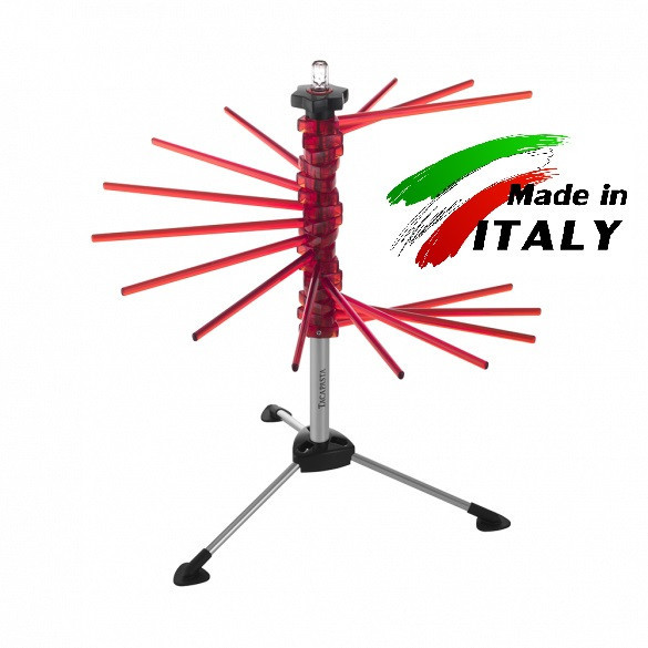 Marcato Design Tacapasta Rosso сушилка для лапши, пасты, макарон и длинных макаронных изделий, красная