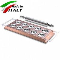 Пельменница-равиольница Marcato Design Ravioli Tablet Rosa форма для иготовления пельменей равиоли, розовая