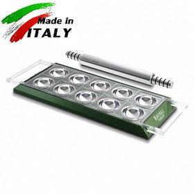 Пельменница равиольница Marcato Design Ravioli Tablet Verde форма для приготовления пельменей равиоли, зеленая