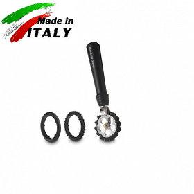 Ручная лапшерезка - фигурный нож для теста, лапши, пасты Marcato Design Pastawheel Nero, черный