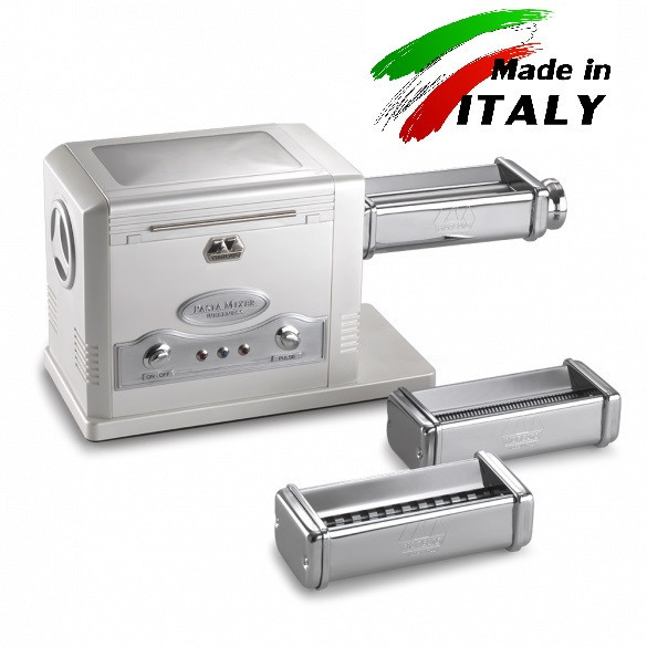 Оптом и розницу Marcato Design Pasta Fresca 220 V/170 W тестомес-тестораскатка-лапшерезка для дома и ресторана