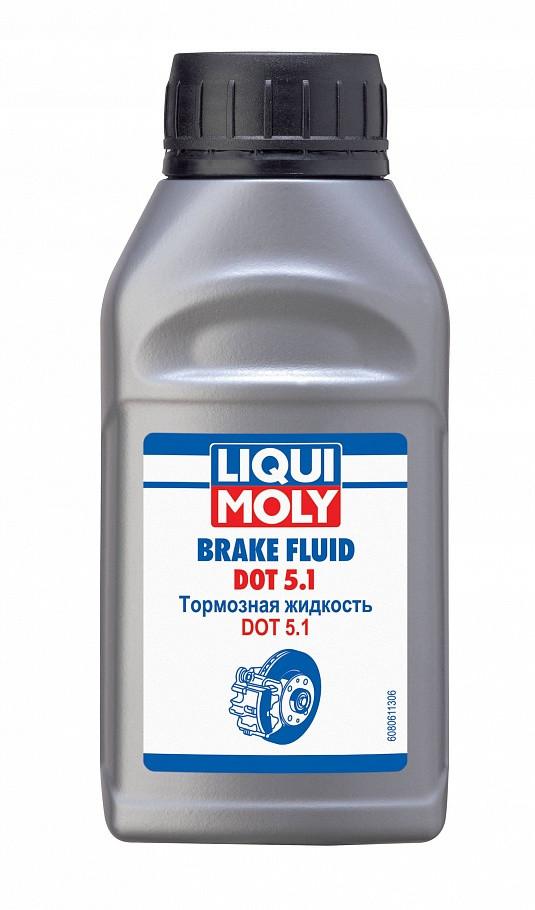 Тормозная жидкость Liqui Moly Brake Fluid DOT 5.1 250 ml.