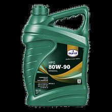 Трансмисионное масло EUROL HPG SAE 80W-90 GL5 5L минеральное