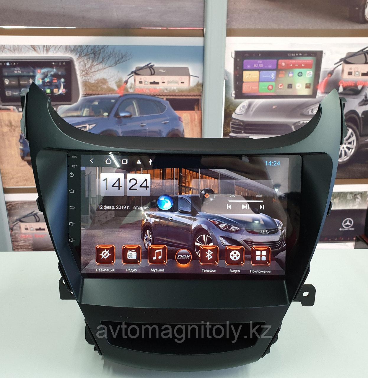 Головное устройство DSK Hyundai Elantra 2011-2014 IPS ANDROID