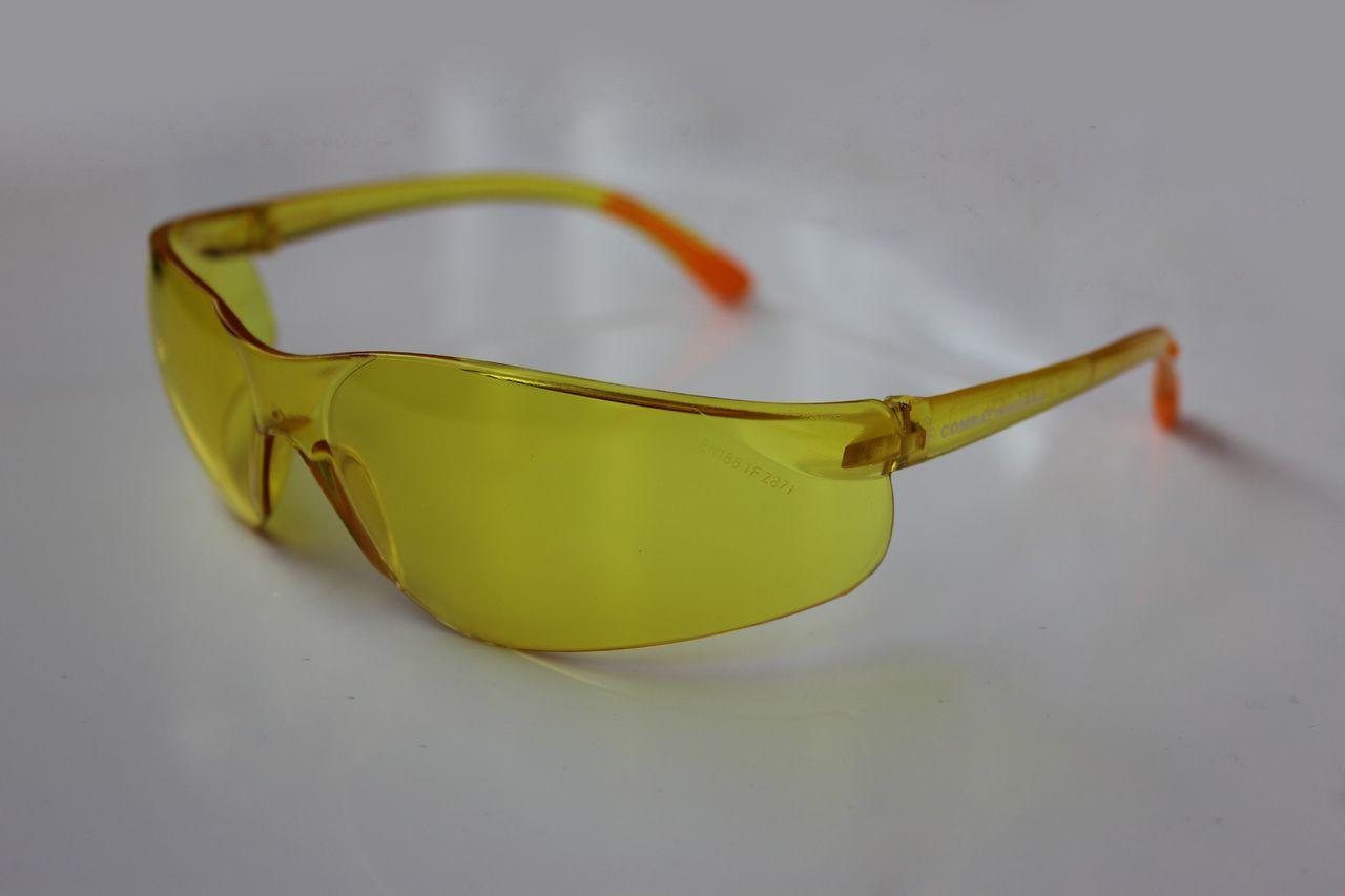 Очки защитные VS02 желтый