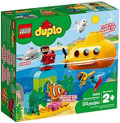 10910 Lego Duplo Путешествие субмарины, Лего Дупло