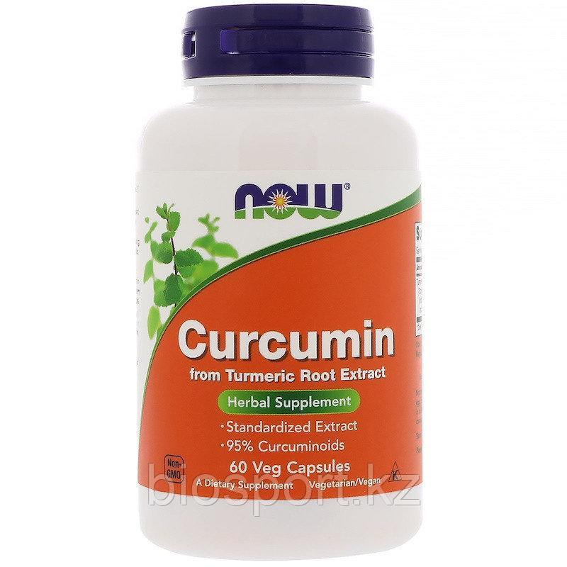 Now Foods, Куркумин 665 мг, 60 капсул.