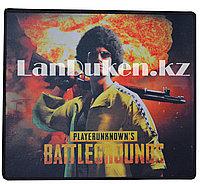 Коврик для мыши G-6 PlayerUnknown's Battlegrounds большой прямоугольный 400x350mm, фото 1