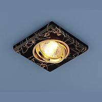 Софит MR16 квадрат золото