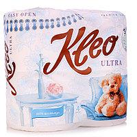 Т/б Kleo Ultra 3-х слойная белая 4 рулона