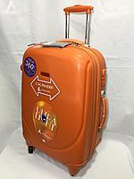 Средний пластиковый дорожный чемодан на 4-х колесах Ambassador, обьем 70 литров,вес 4,80 кг., фото 1