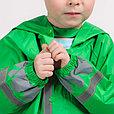 Дождевик детский  зелёный лягушонок, фото 3